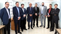 بازدید مدیران ارشد، بازدید مدیران تجارت الکترونیک پارسیان
