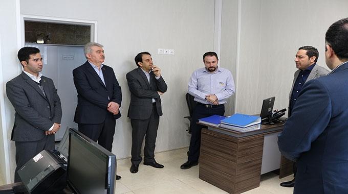 بازدید مدیران ارشد بانکی